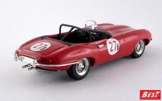 BEST9353 - JAGUAR E TYPE SPYDER - Riverside 1961 - Krause