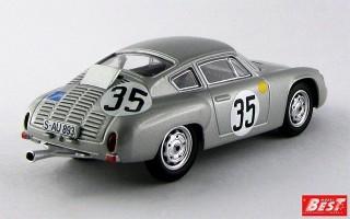 BEST9362 - PORSCHE 356B CARRERA GTL ABARTH - Le Mans 1962 - Buchet / Schiller