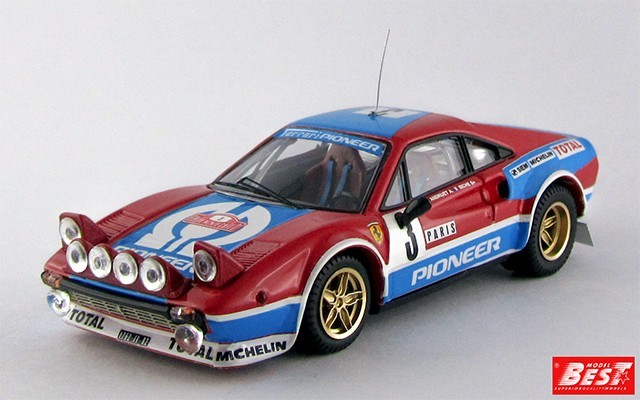 "BEST9363 - FERRARI 308 GTB - Montecarlo 1982 - Andreut / ""Biche"""