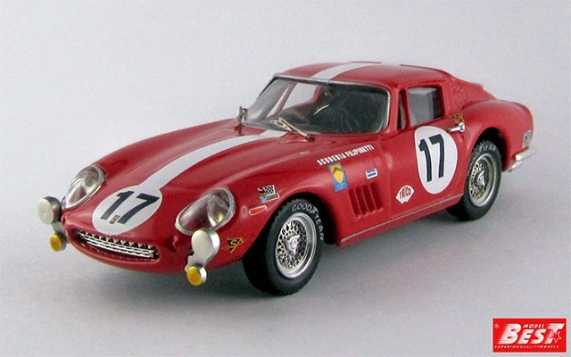 BEST9365 - FERRARI 275 GTB-4 - Le Mans 1968 - Haldi / Rey