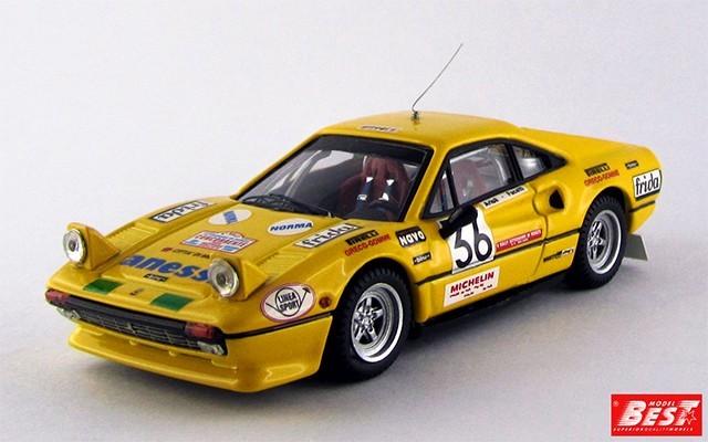 BEST9368 - FERRARI 308 GTB - Monza 1983 - Facetti / Artioli