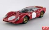 BEST9370 - FERRARI 312 P COUPE' - Monza 1969 -
