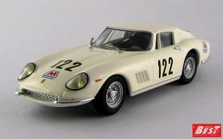 BEST9372 - FERRARI 275 GTB-4 - Targa Florio 1967 - Starrabba / Orlando