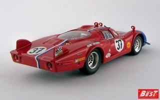 BEST9374 - ALFA ROMEO 33.2 - Le Mans 1968 - Pilette / Slotemaker