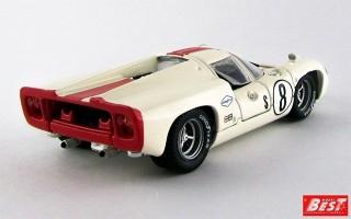 BEST9379 - LOLA T 70 COUPE' - Sebring 1968 - Motschenbacher