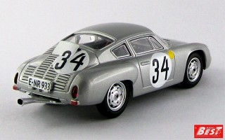 BEST9381 - PORSCHE 356B CARRERA GTL ABARTH - Le Mans 1962 - Barth / Hermann