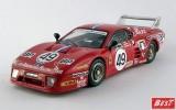 BEST9385 - FERRARI 512 BB LM 3 Serie - Le Mans 1981 - Cudini / Morton / Gurdyian