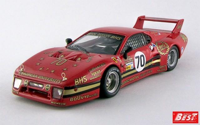 BEST9388 - FERRARI 512 BB LM 2 Serie - Le Mans 1982 - Baird / Dieudonn / Libert