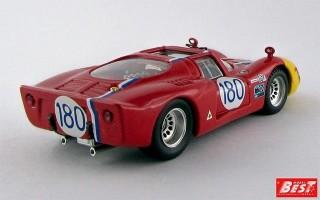 BEST9390 - ALFA ROMEO 33.2 - Targa Florio 1968 - Gosselin / Trosch