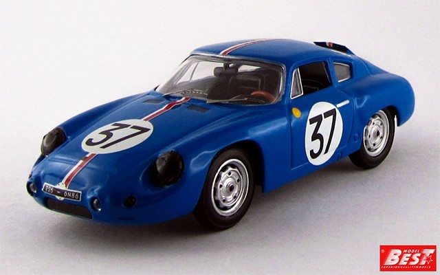 BEST9404 - PORSCHE 356B CARRERA GTL ABARTH - Le Mans 1961 - Buchet / Monneret