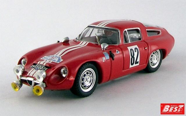 BEST9416 - ALFA ROMEO TZ1 - Montpellier 1965 - Rolland