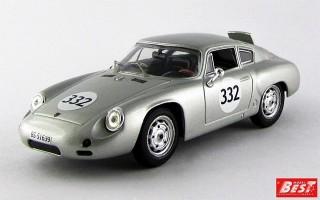 BEST9417 - PORSCHE 356B CARRERA GTL ABARTH - Campionato Europeo 1962 - Kuhnis