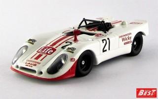 BEST9418 - PORSCHE 908-02 FLUNDER - Monza 1971 - Brambilla / Mati / Wiky