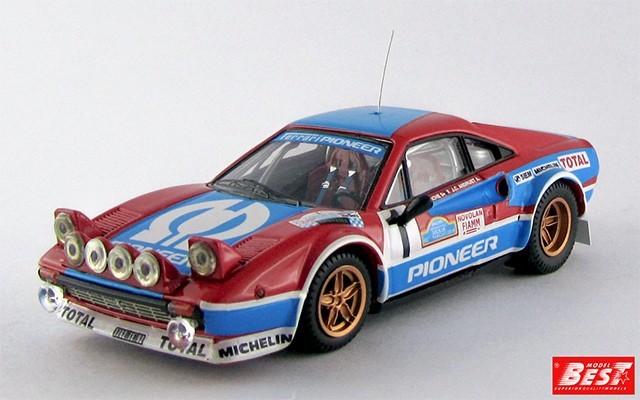 """BEST9421 - FERRARI 308 GR.4 - Targa Florio 1982 - Andreut / """"Biche"""""""