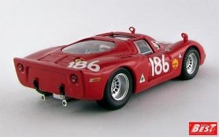 BEST9422 - ALFA ROMEO 33.2 - Targa Florio 1968 - Giunti / Galli