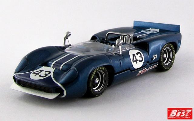 BEST9426 - LOLA T 70 SPYDER - Riverside 1966 - Stewart
