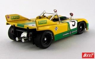 BEST9433 - PORSCHE 908-03 - Le Mans 1972 - Fernandez / Torredemer