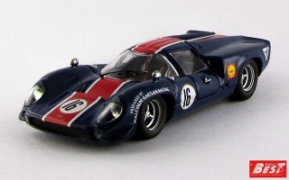 BEST9439 - LOLA T 70 COUPE' - Norisring 1969 - Muir