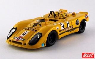 BEST9442 - PORSCHE 908-02 FLUNDER - Nurburgring 1970 - Grager / Leuze