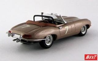 BEST9459 - JAGUAR E TYPE SPYDER - Del Mar USA 1961 - Wally Barnitz