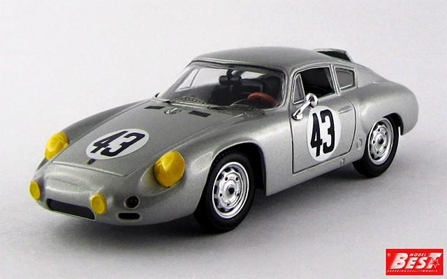 BEST9465 - PORSCHE 356B CARRERA GTL ABARTH - Sebring 1963 - Barth