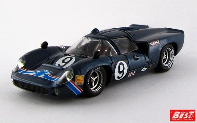 BEST9477 - LOLA T 70 COUPE' - Daytona 1969 - Jordan / Patrick