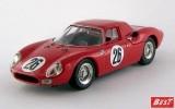 BEST9489 - FERRARI 250 LM - 1000 Km di Parigi 1966 - Parkes / Piper
