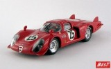 BEST9492 - ALFA ROMEO 33.2 CODA LUNGA - Daytona 1969 - Dibos / Chappuis / Calabattisti