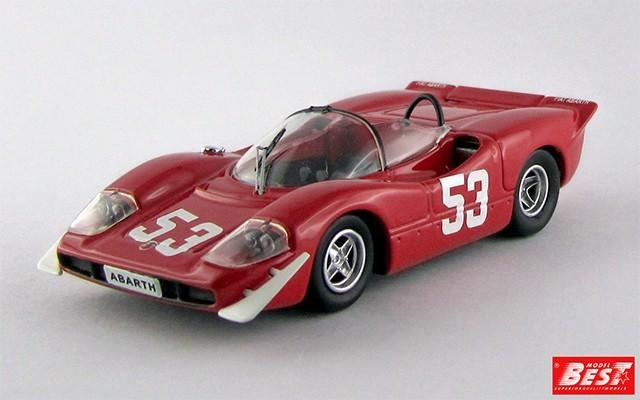 BEST9494 - ABARTH 2000 - Imola 1969 - Ortner / Van Lennep