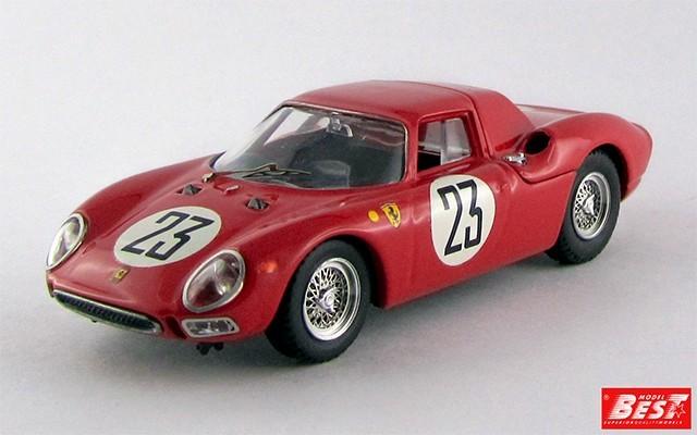 BEST9499 - FERRARI 250 LM - Le Mans 1964 - Dumay / Van Ophem