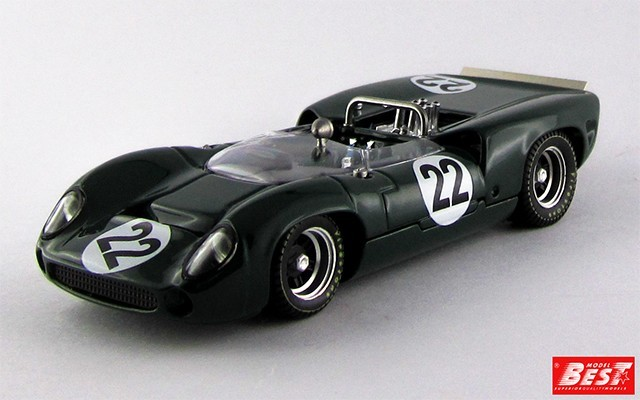 BEST9506 - LOLA T 70 SPYDER - Silverstone 1966 - Dibley