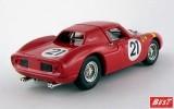 BEST9486 - FERRARI 250 LM - Zolder 1964 - Bianchi