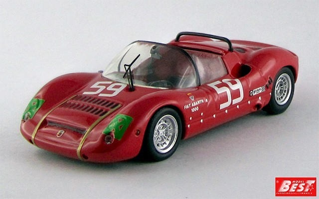 BEST9530 - ABARTH SP 1000-1300 - 1000 Km di Monza 1968 - Grana / Pasotto