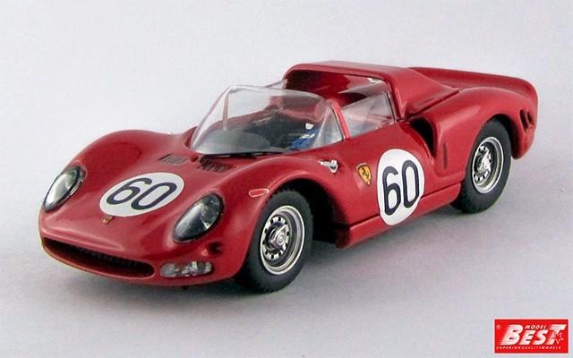 BEST9534 - FERRARI 330 P2 - Monza 1965 - Surteen / Scarfiotti