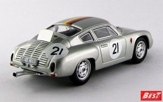 BEST9535 - PORSCHE 356B CARRERA GTL ABARTH - 1000 K Di Parigi 1962 - Lingue / Koch