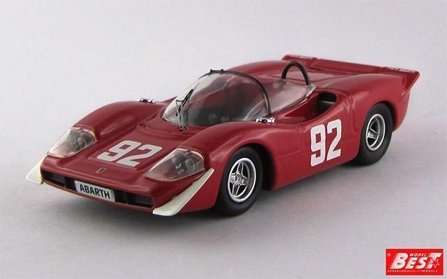 BEST9545 - ABARTH 2000 S - Campionato Europeo Montagna 1969 - Merzario