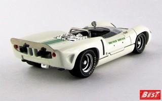 BEST9553 - LOLA T 70 SPYDER - Mallory Park 1966 - Hulme