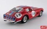 BEST9560 - FERRARI 275 GTB-4 - 1000 Km di Parigi 1966 - Vestey / Gaspar