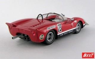 BEST9568 - ABARTH 2000 S - Silverstone 1969 - Ed Swart