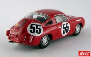BEST9570 - ABARTH 700 S - Le Mans 1961 - Condrillier / Foitek