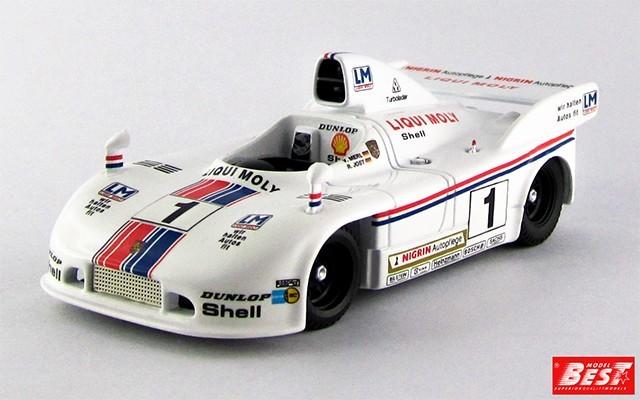 BEST9571 - PORSCHE 908-04 - Brands Hatch 1979 - Jost / Merl
