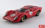 BEST9589 - FERRARI 312 P COUPE' - Bridgehampton 1969 - Rodriguez