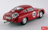 BEST9591 - PORSCHE 356B CARRERA GTL ABARTH - Nurburgring 1963 - Knunis / Schiller