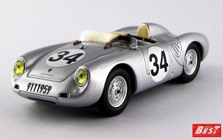 BEST9592 - PORSCHE 550 RS - Le Mans 1957 - Storez / Crawford