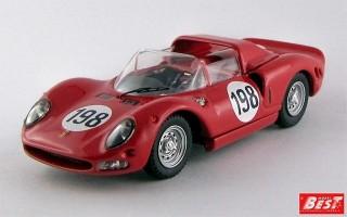BEST9593 - FERRARI 275 P2 - Targa Florio 1965 - Vaccarella / Bandini