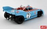 BEST9599 - PORSCHE 908-03 - Targa Florio 1971 - Siffert / Redman