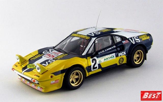 BEST9615 - FERRARI 308 GTB - Valli Piacentine 1980 - Nico / Barban