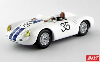 BEST9619 - PORSCHE 550 RS - Le Mans 1957 - Hugus / Godin de Beaufort
