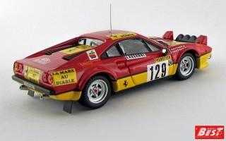 BEST9620 - FERRARI 308 GTB - Rallye Monte Carlo 1983 - Gauthier / Gautier