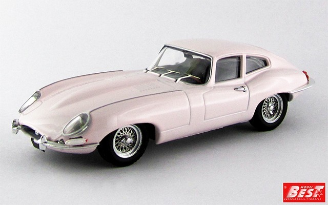 BEST9624 - JAGUAR E TYPE COUPE' - Rita Pavone
